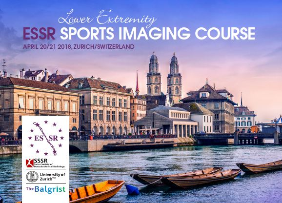 7th Educational SSSR Meeting: SPORTS IMAGING COURSE by ESSR & SSSR
