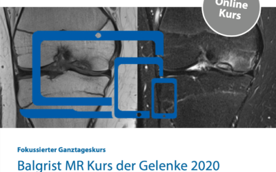 Balgrist MR Kurs der Gelenke 2020 «Virtual Edition»