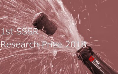 1st SSSR Research Prize 2018
