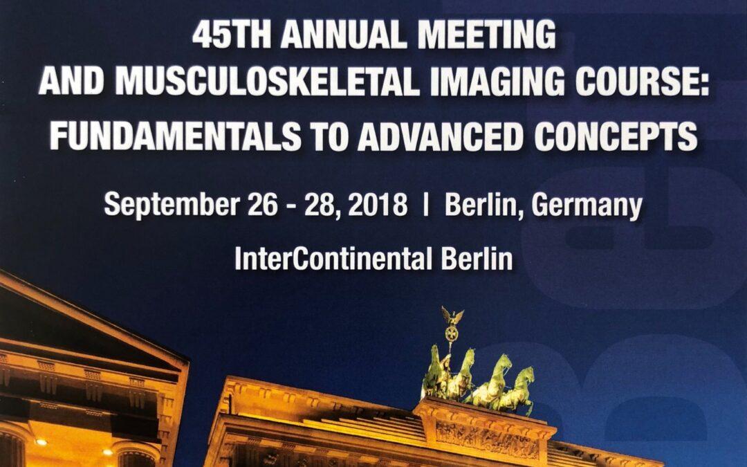 45th Annual Meeting in Berlin: International Skeletal Society
